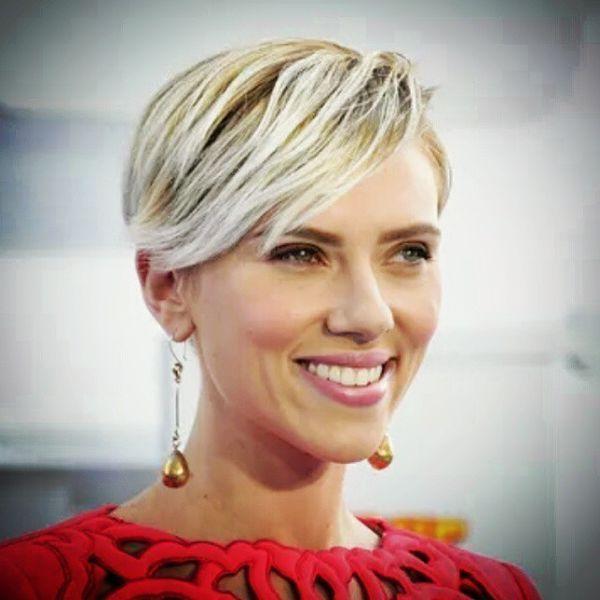 Scarlett Johansson Kurzes Haar Neueste Frisuren Madame Frisuren