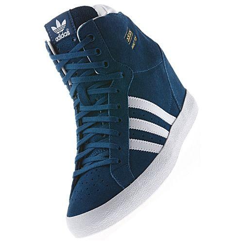 nouvelle arrivee f0320 dc830 image: adidas Basket Profi Up Wedge Shoes D65828 $72.00 ...