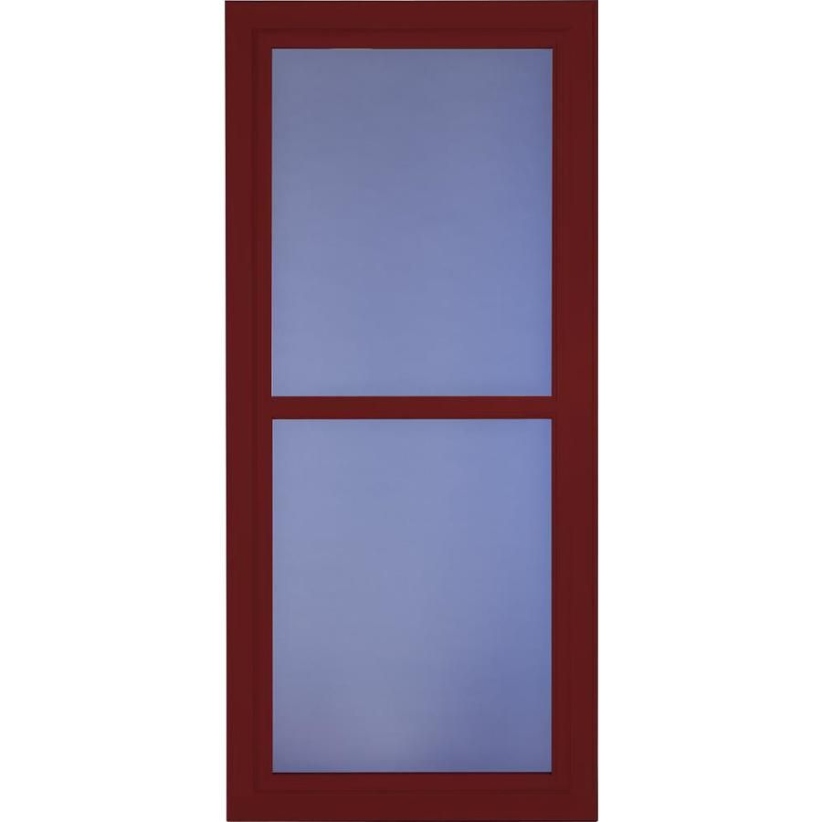 Larson Tradewinds Selection Cranberry Full View Aluminum Retractable