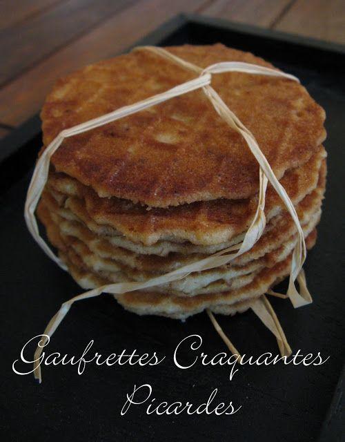 Odorantes ,  fines ,  plates ,  rondes  et incroyablement craquantes , elles sentent bon le beurre et font une merveille avec une Île flo...