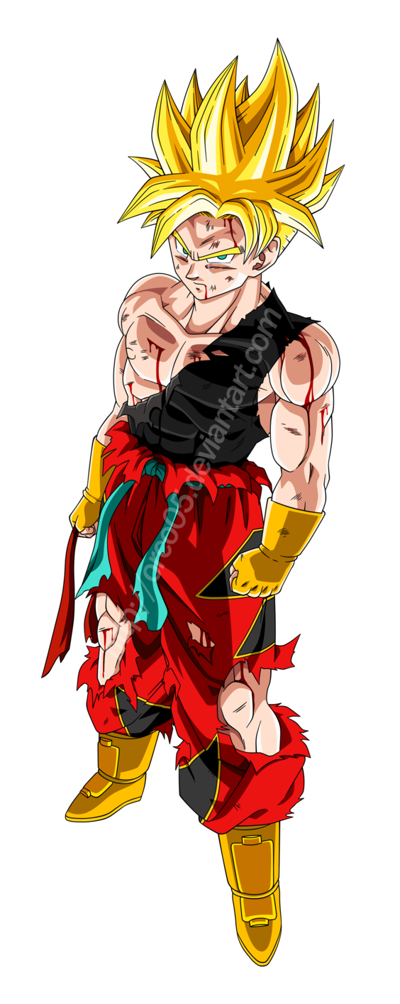 Kid Goku Ssj Png Image With Transparent Background Png Free Png Images Kid Goku Free Png Anime Dragon Ball Super