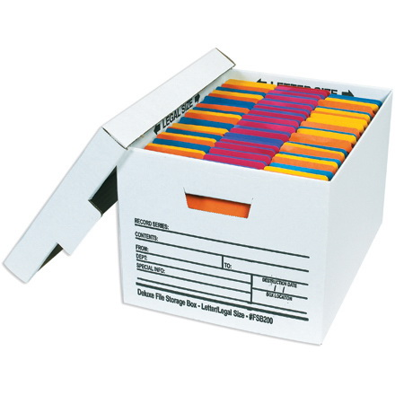 24 X 15 X 10 Deluxe File Storage Boxes 12 Each Per Case In 2020 Storage Boxes File Storage Storage