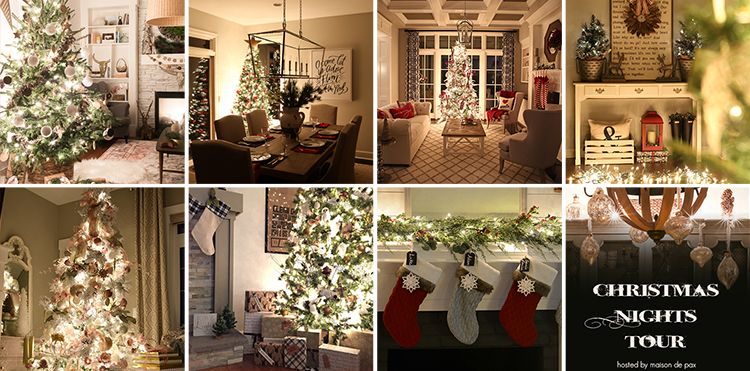 christmas decor - Beautiful Homes Decorated For Christmas