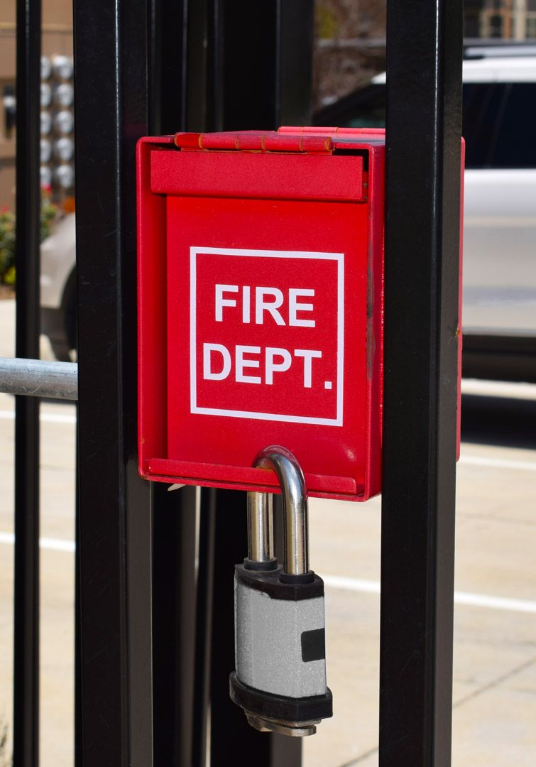 Add A Fire Department Lock Box To Your Gate For Safety And Easy