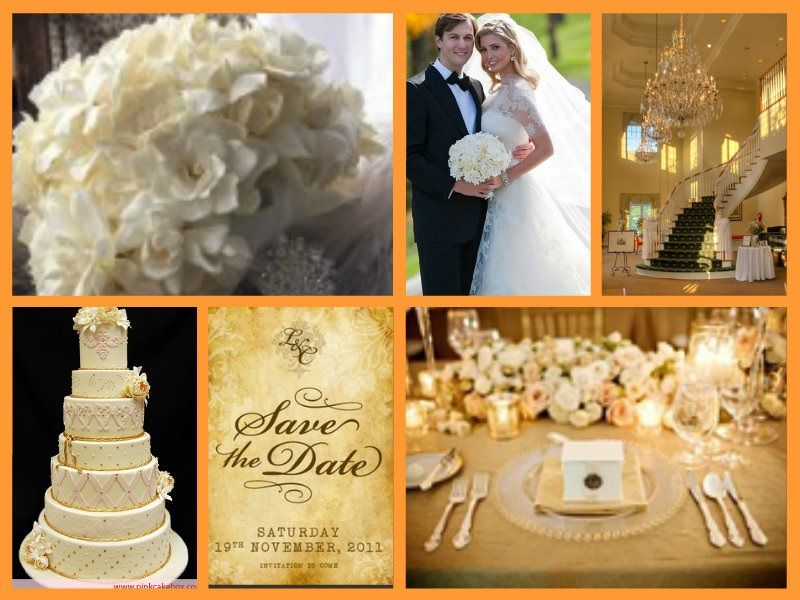 Ivanka Trump wedding   Classic Hollywood Theme   Pinterest   Trump ...