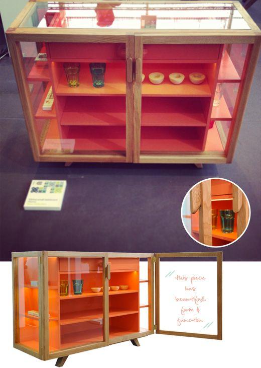 Maison objet trend wood coloured lacquer pinterest for Trends muebles
