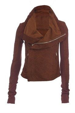 Handmade women brown leather Jacket women by customdesignmaster, $149.99