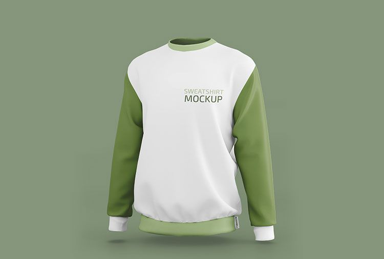 Download Free Sporty Sweatshirt Mockup Psd Set Psfiles Clothing Mockup Sweatshirts Mockup