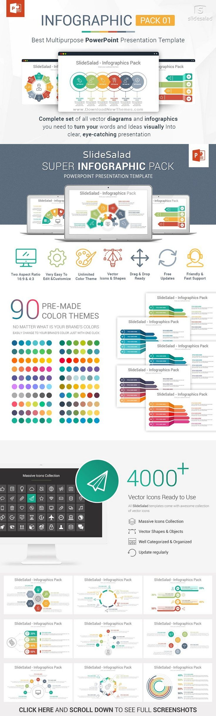 Best PowerPoint Infographics Pack (With images