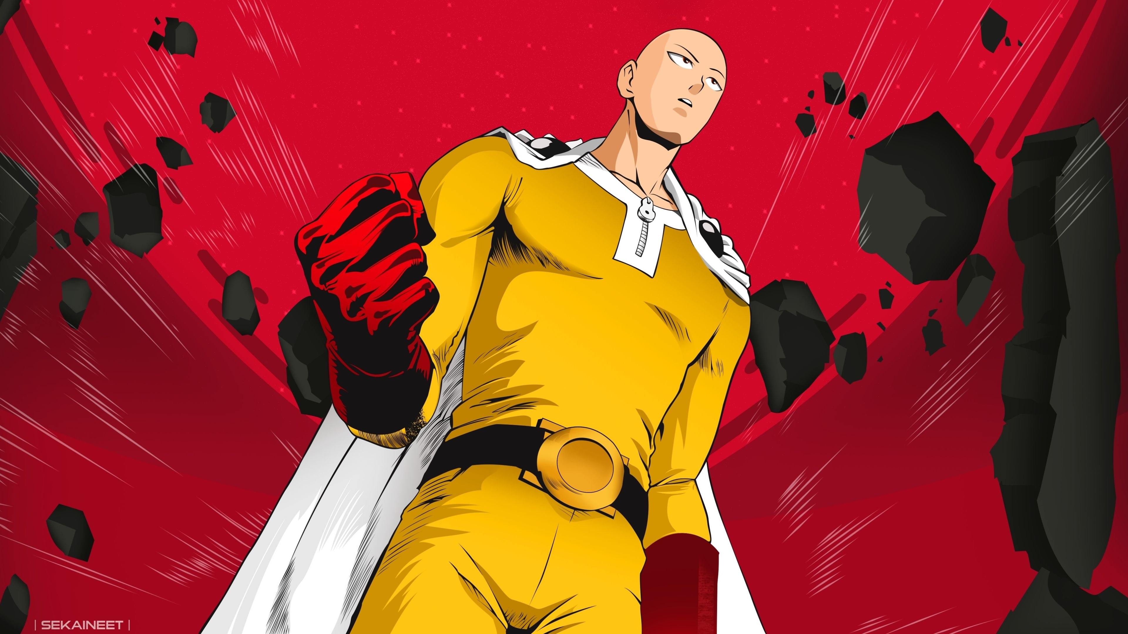 One Punch Man Desktop Wallpaper 4k If You Have Your Own One Just Send Us The Image And We Will Show It On The Web Site Ultra Hd Wallpaper 4k Genos And