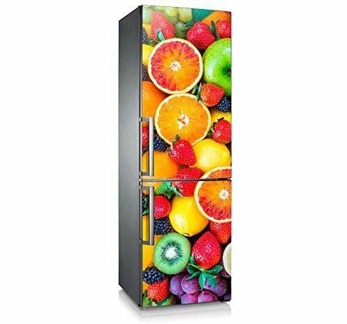 Mod tutti frutti refrescante dise o para frigor fico - Decoracion de neveras ...