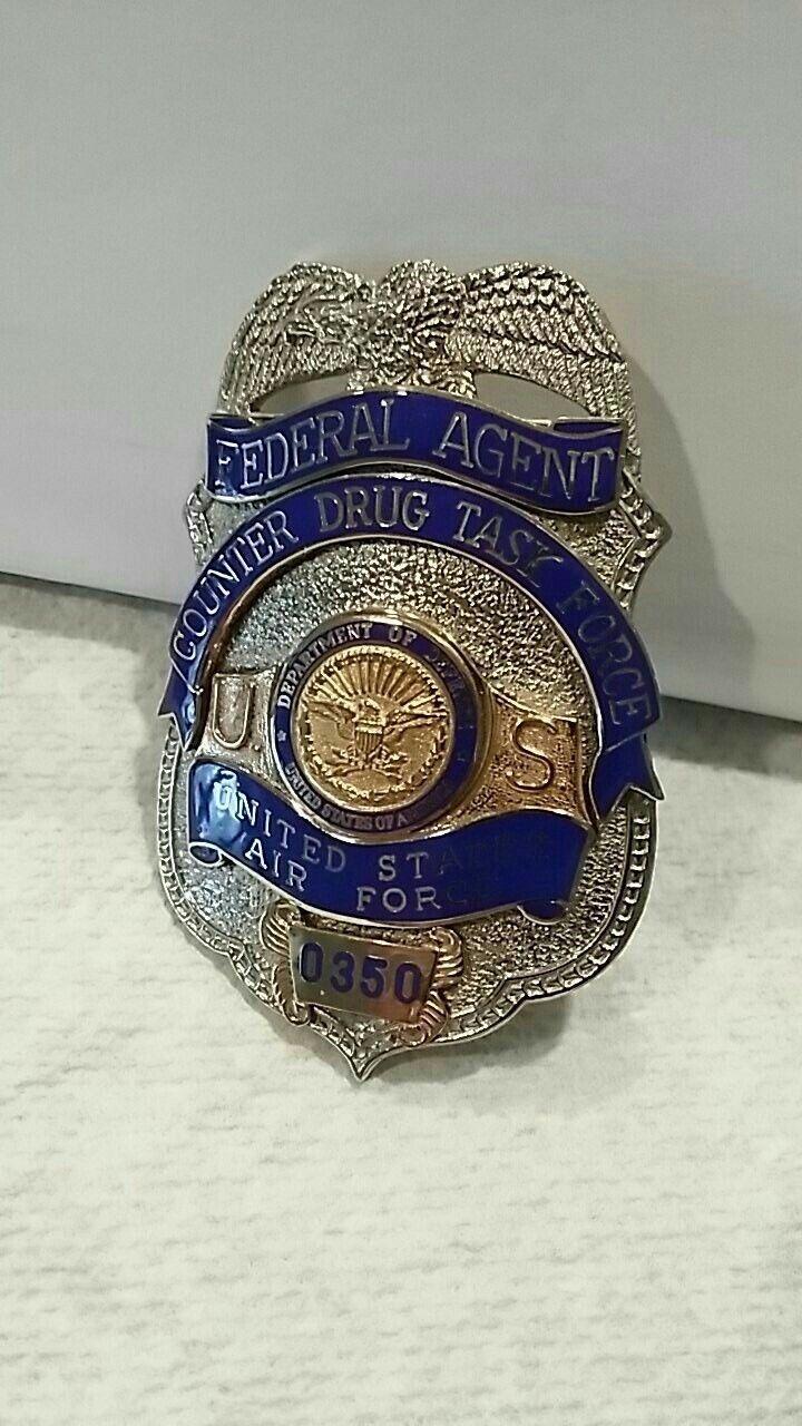 Federal Agent, Counter Drug Task Force, U S  Air Force