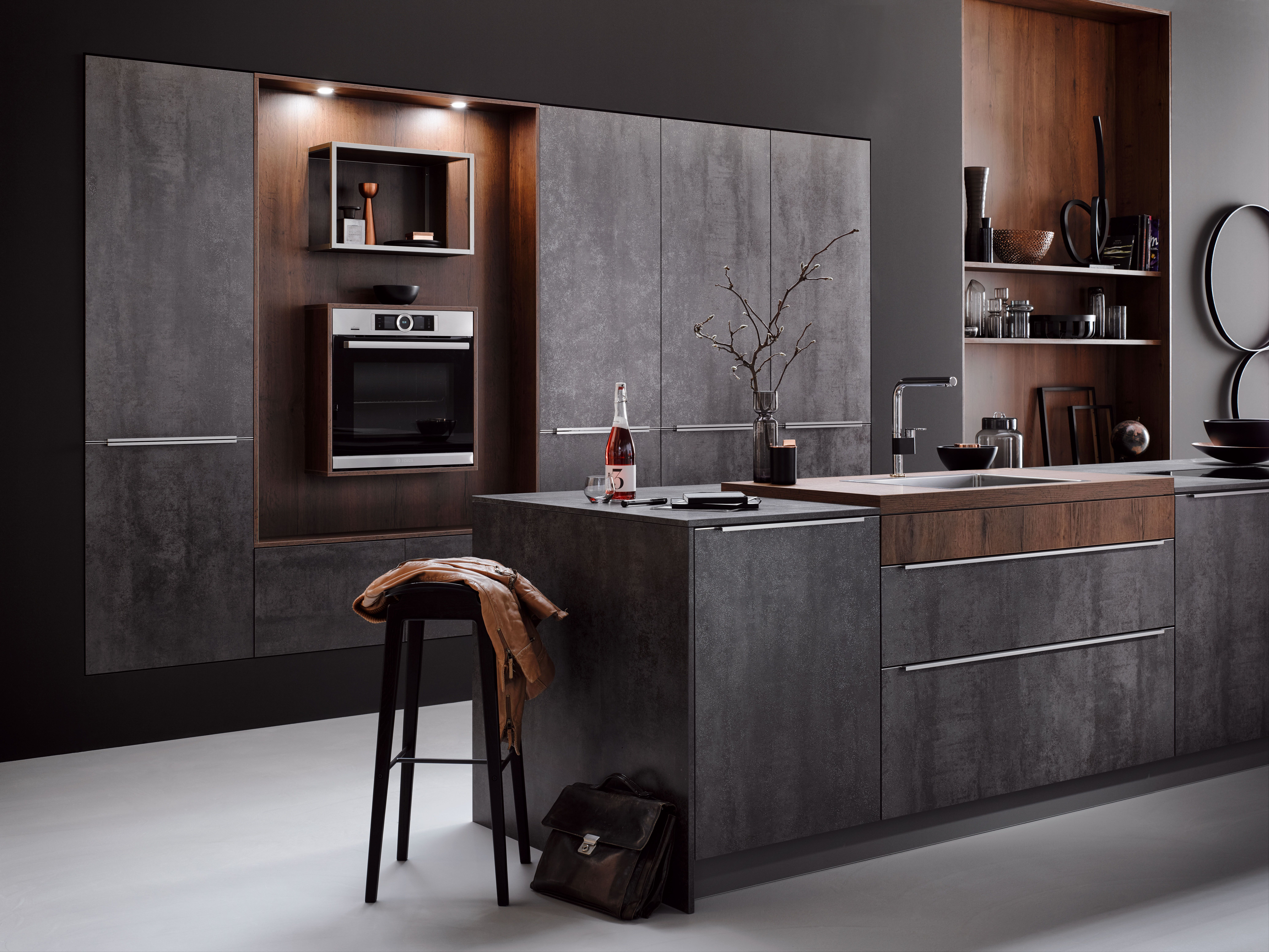 Häcker Küche Systemat Av 2035 Av8000 Iron Grey Häcker Küche Systemat 2019 In 2019 Kitchen