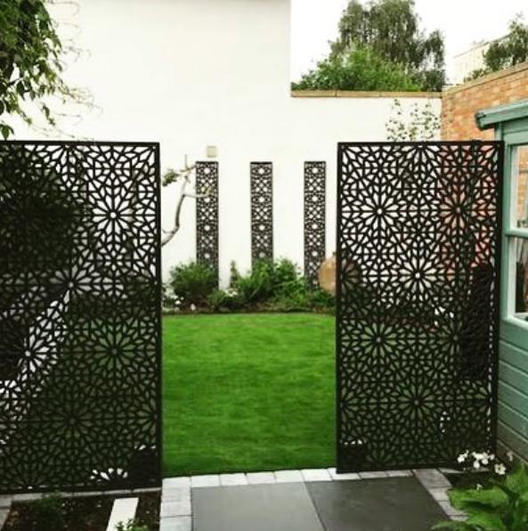 Moucharabiya - Large Garden Screen | Garden privacy screen ...