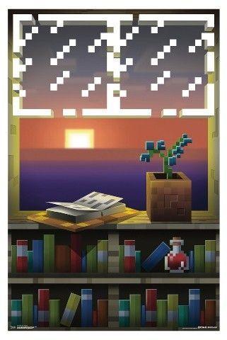 Trends International Minecraft Window Poster 34x22 Imagenes De Minecraft Fondos De Minecraft Fondos De Pantalla Minecraft