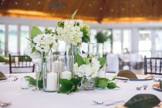 Airlie wedding virginia reception table floral
