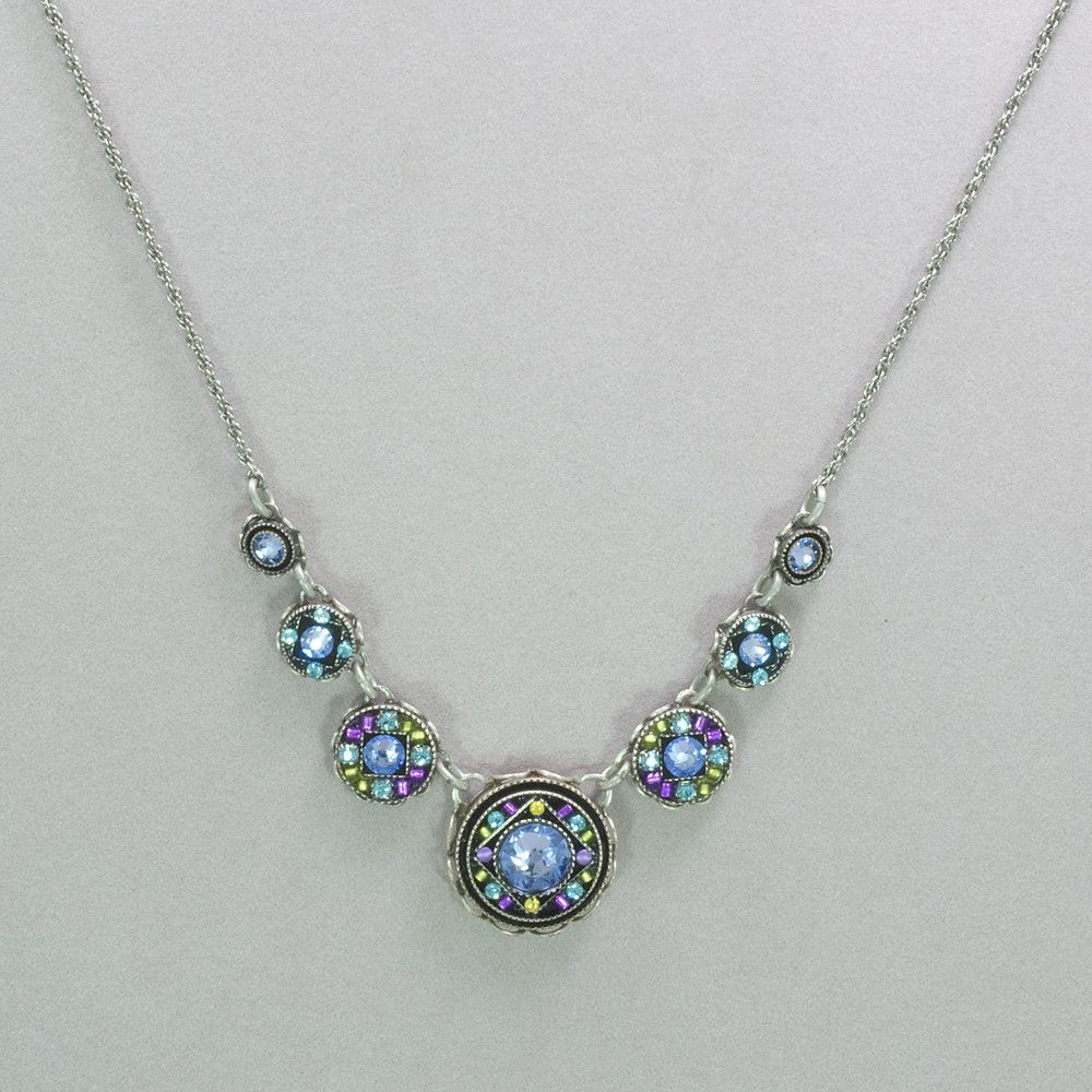 Firefly Isabella Simple Necklace - Lavendar