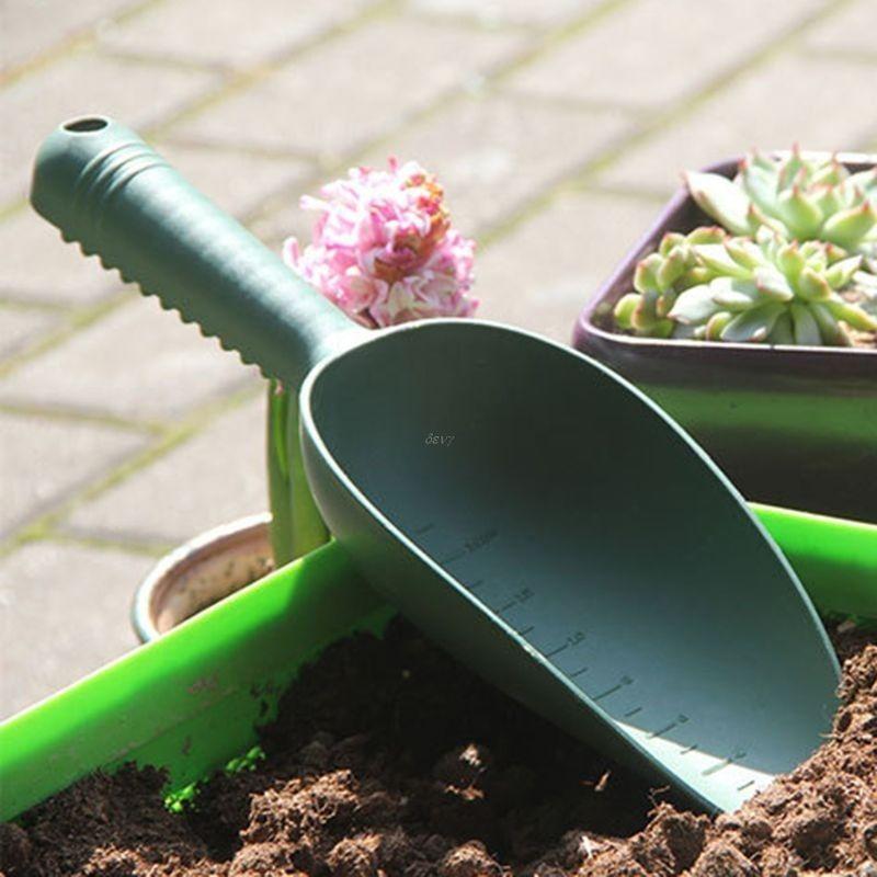 Home Gardening Tools Plastic Loose Soil Spade Plant Shovels