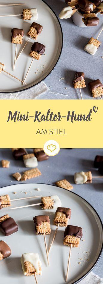 Mini Kalter Hund zum Snacken – backen