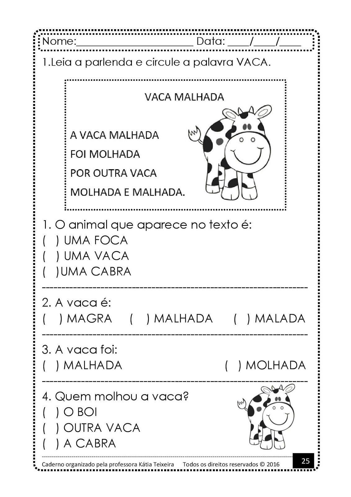Projeto De Al Palavra Cavalo Page 025 Jpg 1131 1600 Com Imagens