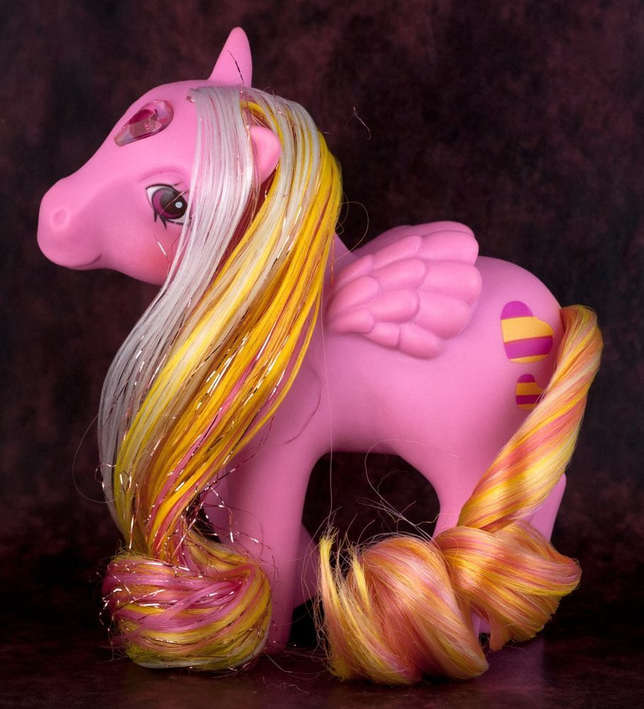 Détails sur Vintage G1 My Little Pony Glittering Gem