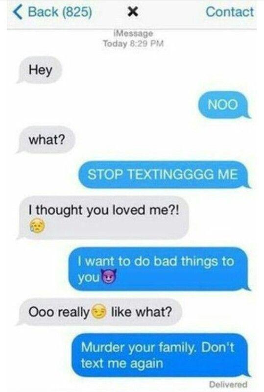 I'm so mean Ik   Me   Funny breakup texts, Funny texts