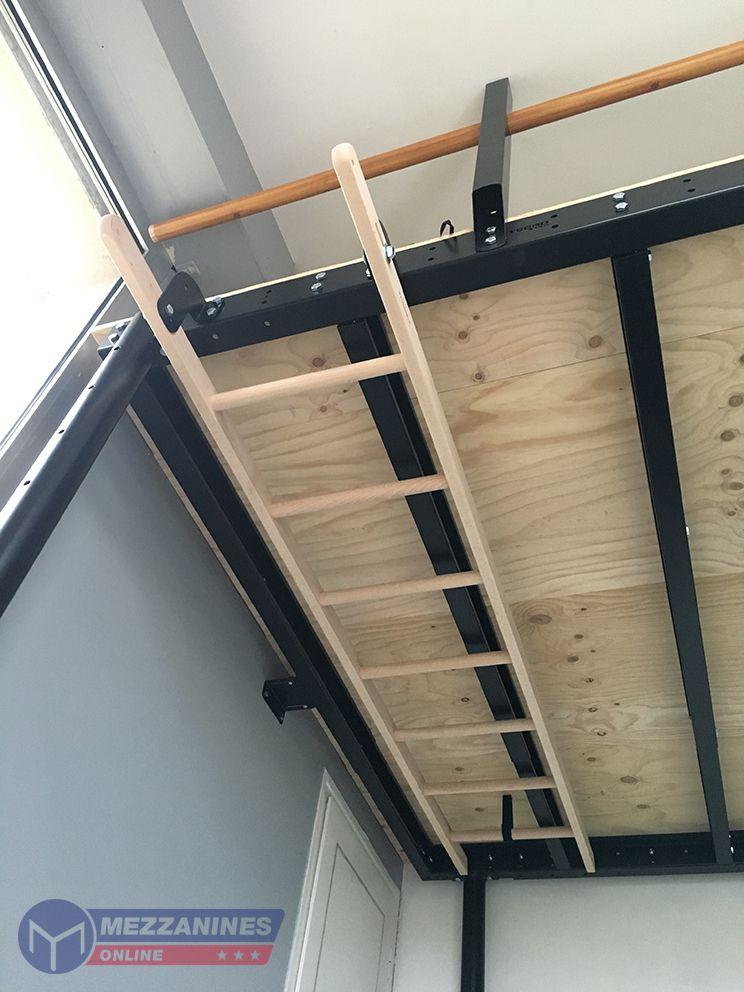 S Ladder Garage Loft Tiny House Stairs Mezzanine Floor