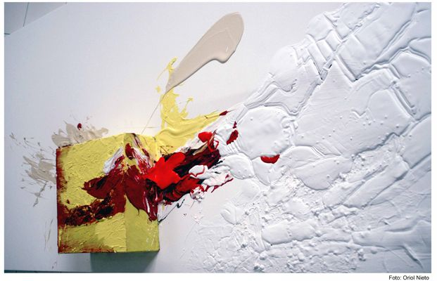 Alberto Reguera Beyond the physical limits of the canvas