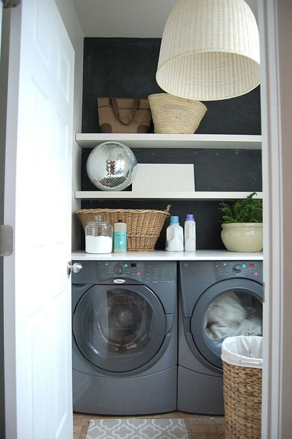 Small Utility Room Design Ideas Part - 26: 20 Innovative Laundry Spaces At Home. Small Laundry RoomsLaundry ...