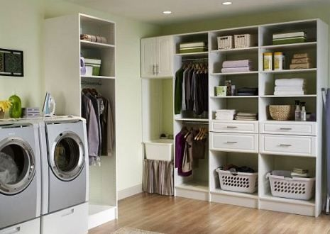 Laundry Room Storage Spaces For More Awesome Custom Home Ideas Check Out Www Customhomesbyjscull Com Customhomes Doing Laundry Basement Laundry Laund