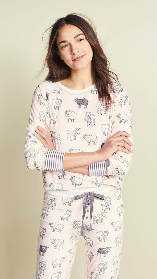 883ac4c0fdd PJ Salvage That's What Sheep Said PJ Top | Products | Tops, Floral ...