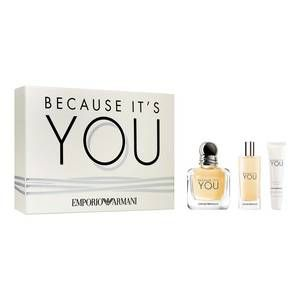 Emprio Armani Because Its You Coffret Eau De Parfum Giorgio