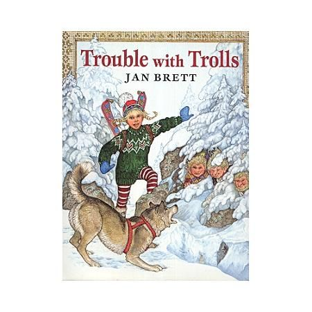 Trouble With Trolls Walmart Com In 2021 Childrens Books Illustrations Three Billy Goats Gruff Favorite Books