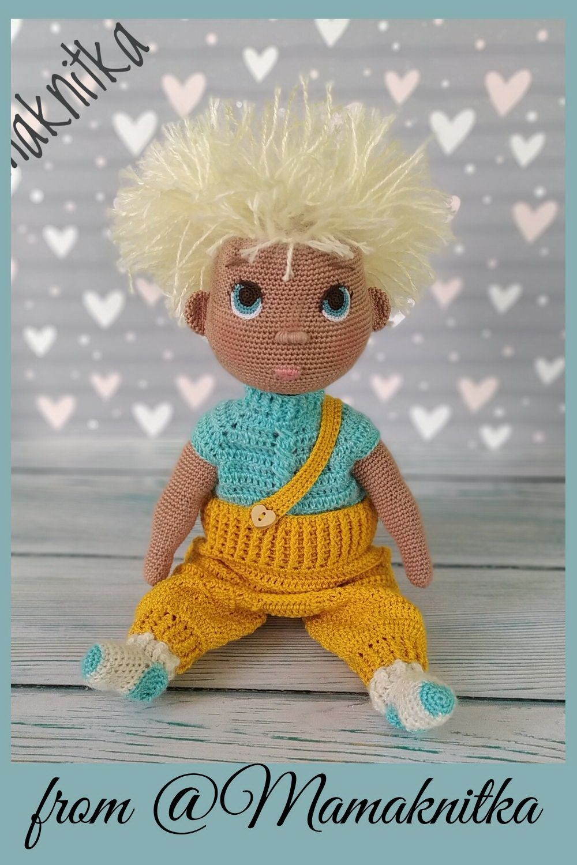 Amigurumi Crochet doll amigurumi pattern PDF Baby Baby
