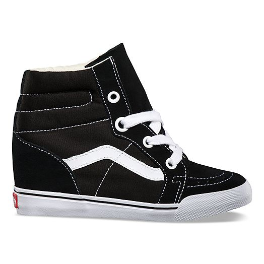 Vans   trends   Mix it up with Lace  Sk8-Hi Wedge  788536fe95