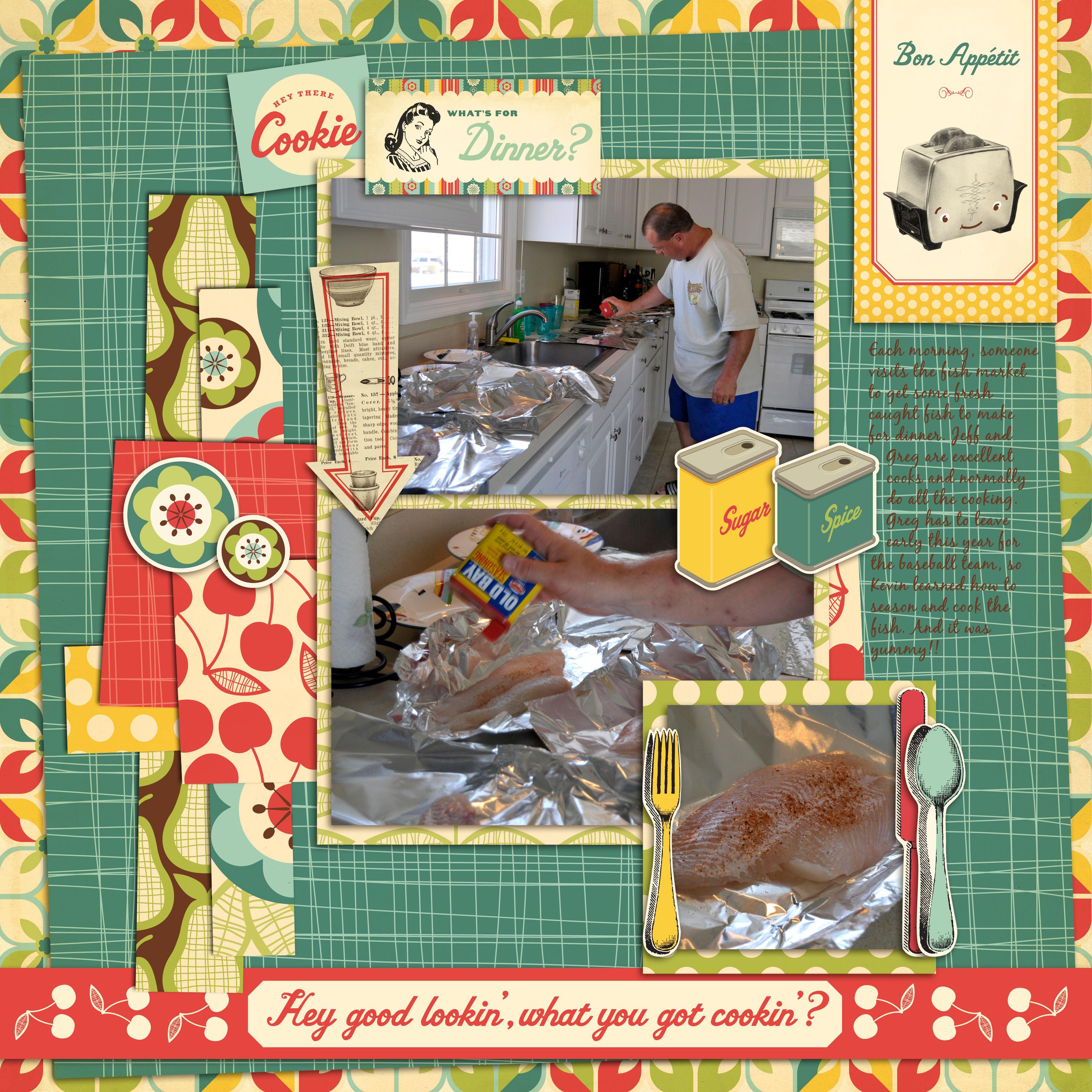 How to scrapbook recipes ideas - Recipe Scrapbook Ideas