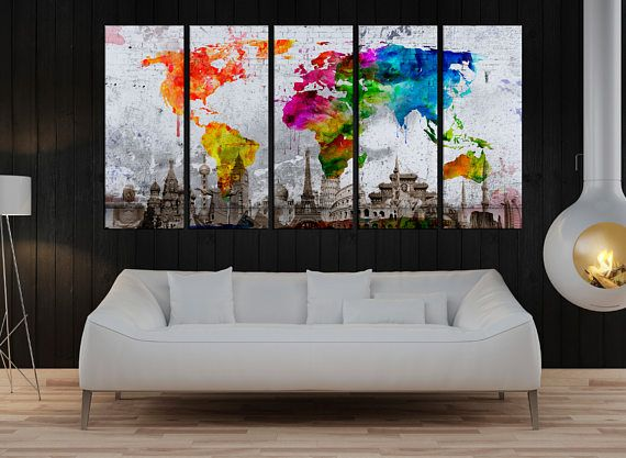 Canvas prints add a unique touch to your home modern stylish and unique design