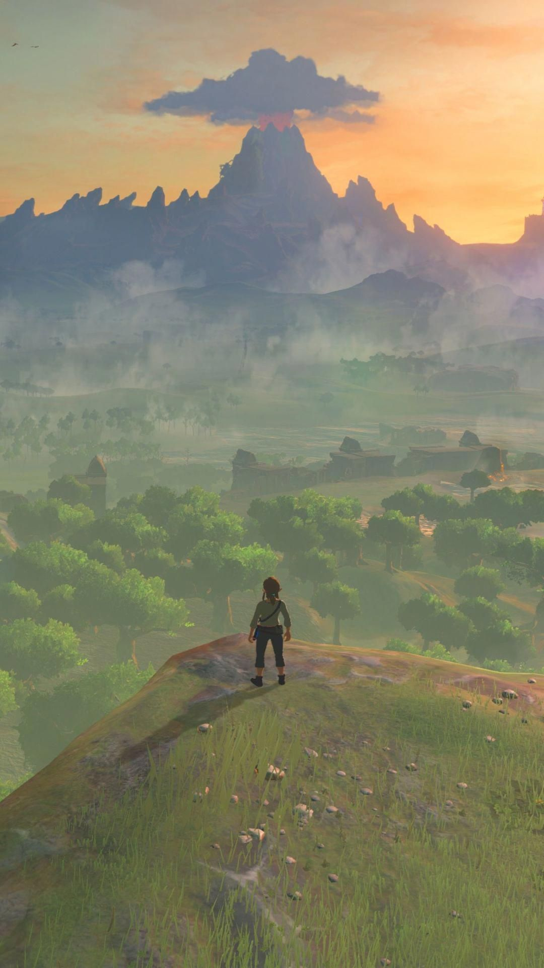 Breath Of The Wild Wallpaper For Android Best iPhone