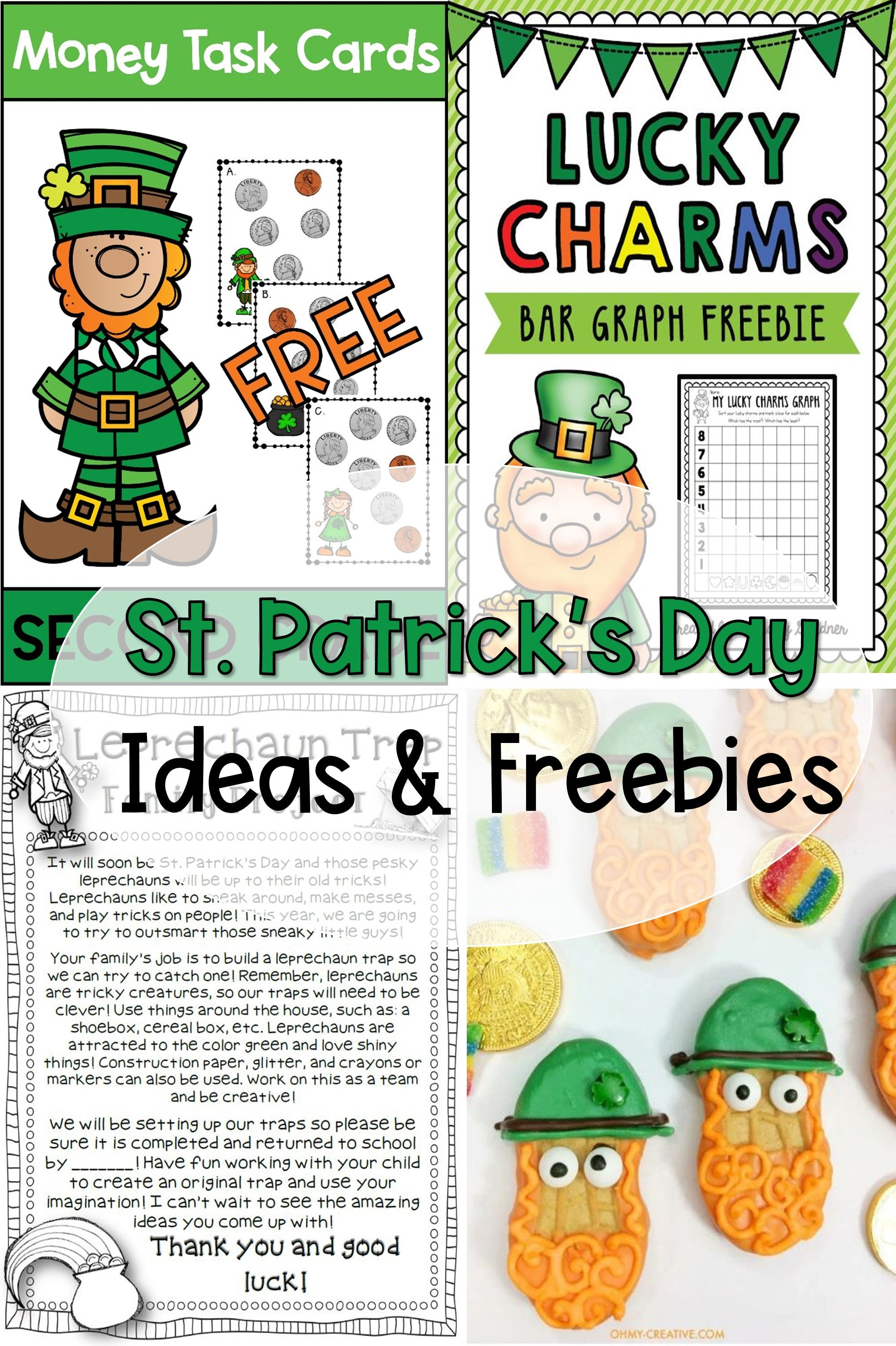 St Patrick S Day Ideas And Freebies For The Classroom In