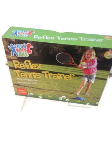 REFLEX TENNIS TRAINER KIDS CHILDS CHILDREN'S OUTDOOR SUMMER GARDEN TOY GAMES
