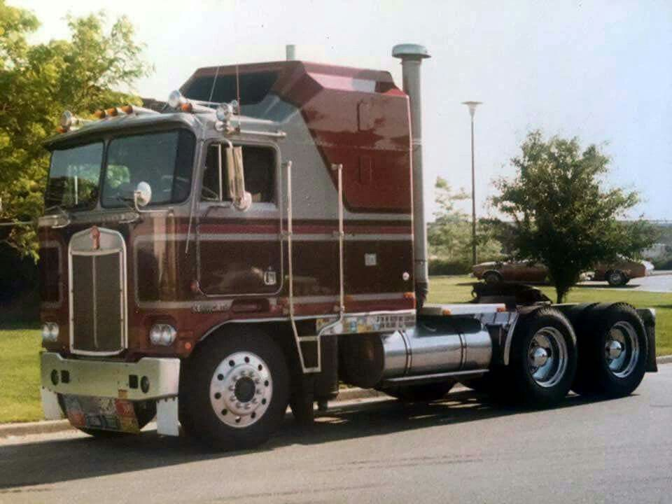 Classic Kenworth Aerodyne Sleeper COE Big trucks, Big