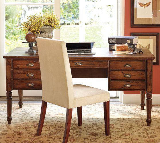 Printer's Keyhole Desk | Pottery Barn $1,000