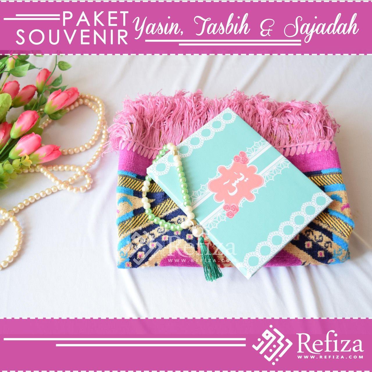 Paket Souvenir Yasin Tasbih Dan Sajadah Sajadah