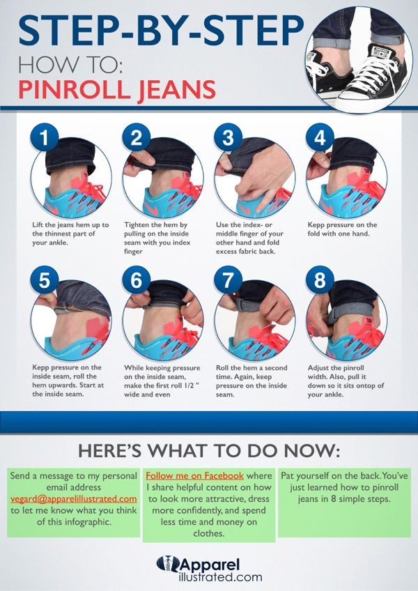 55cf326f how to pinroll jeans - Google Search | clothe tips | Mens casual ...