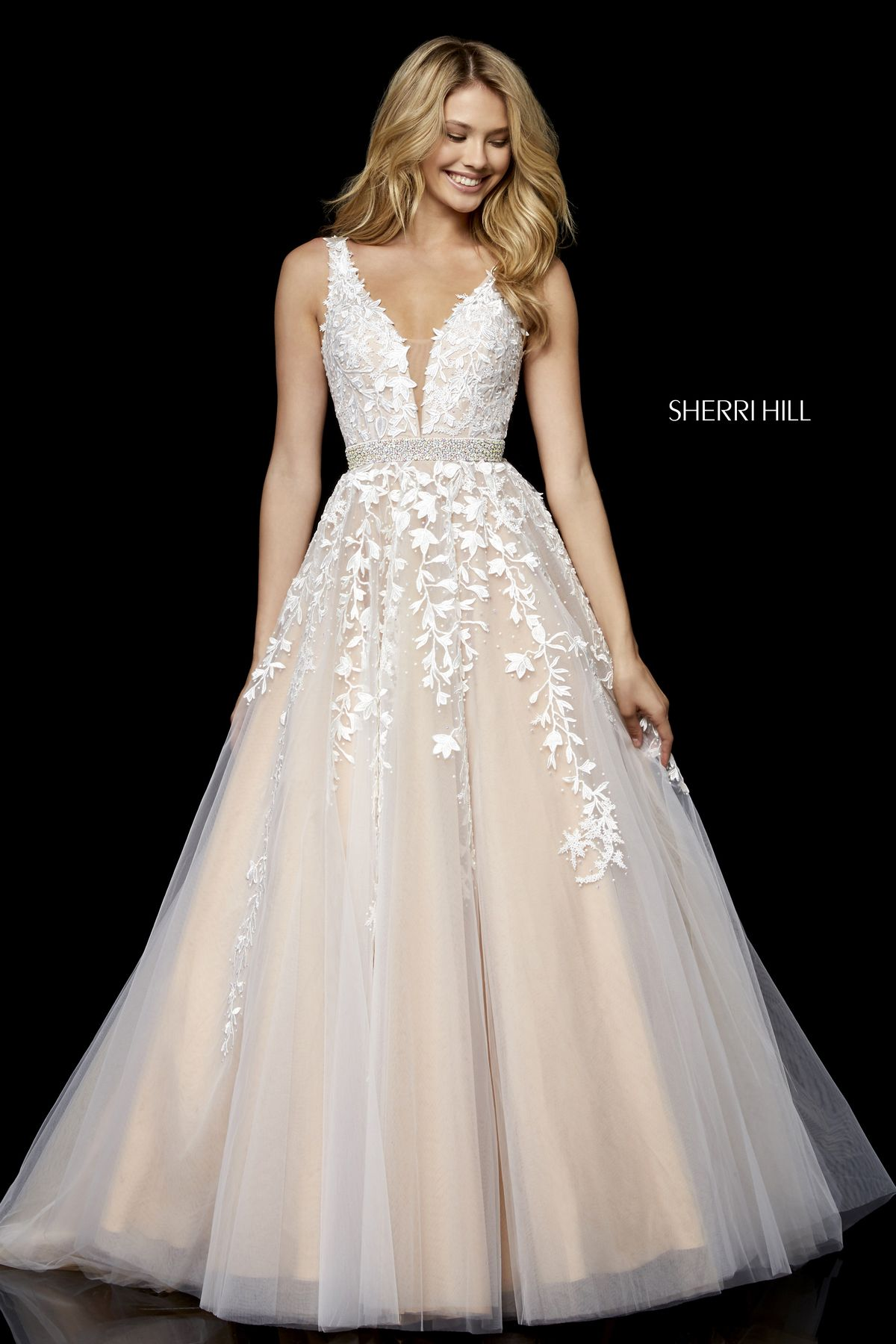 Style 11335 | White Pageant Gowns | Pinterest | Tulle balls, Ball ...