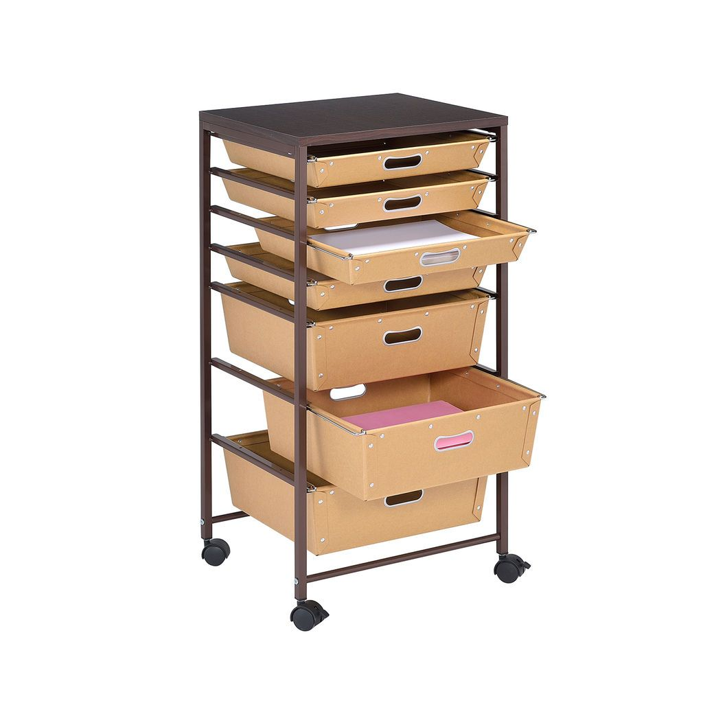 Paper 7 Drawer Rolling Cart By Recollections Michaels