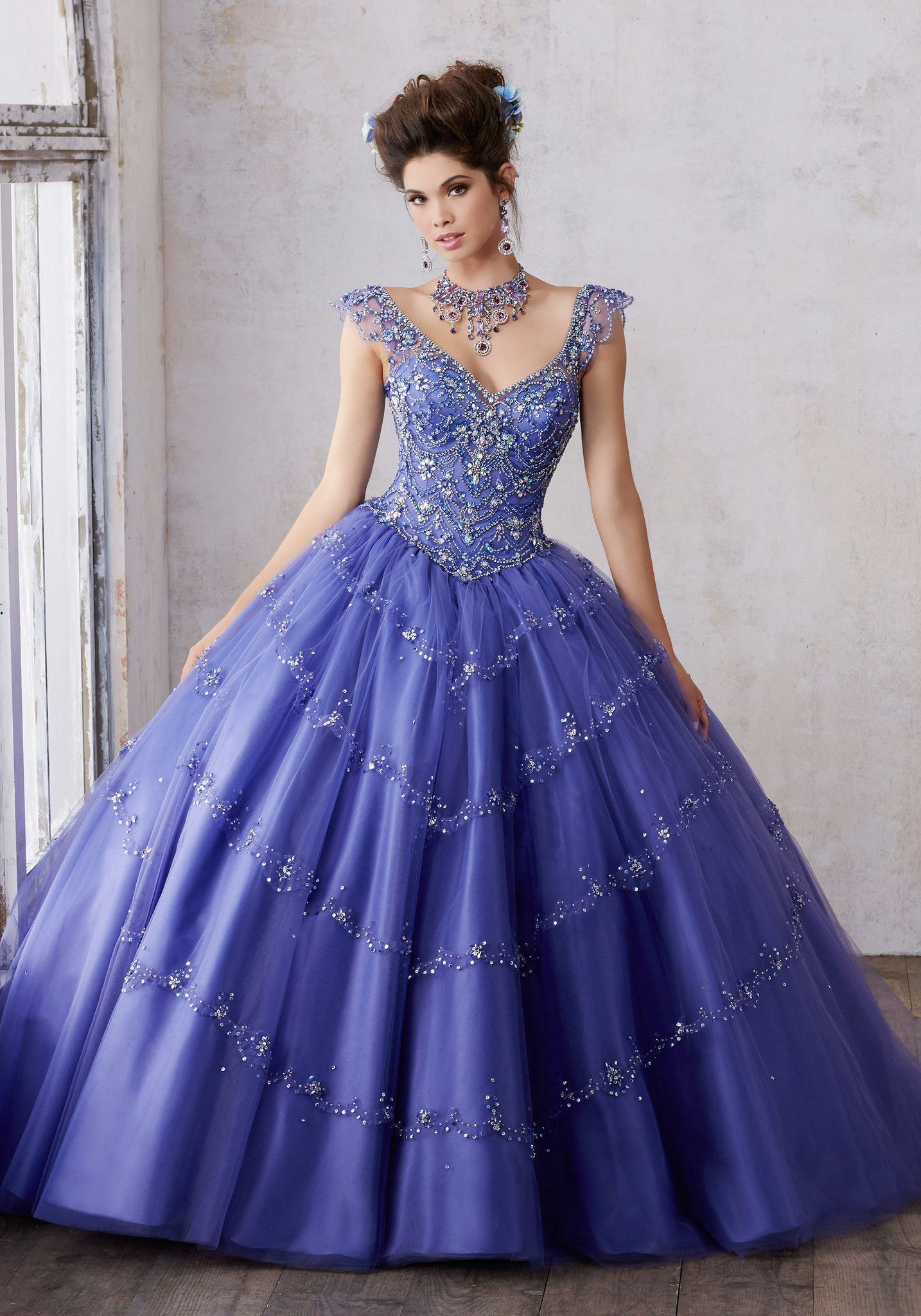 Mori Lee Quinceanera Dress 89136 | Pinterest | Mori lee, Gowns and ...