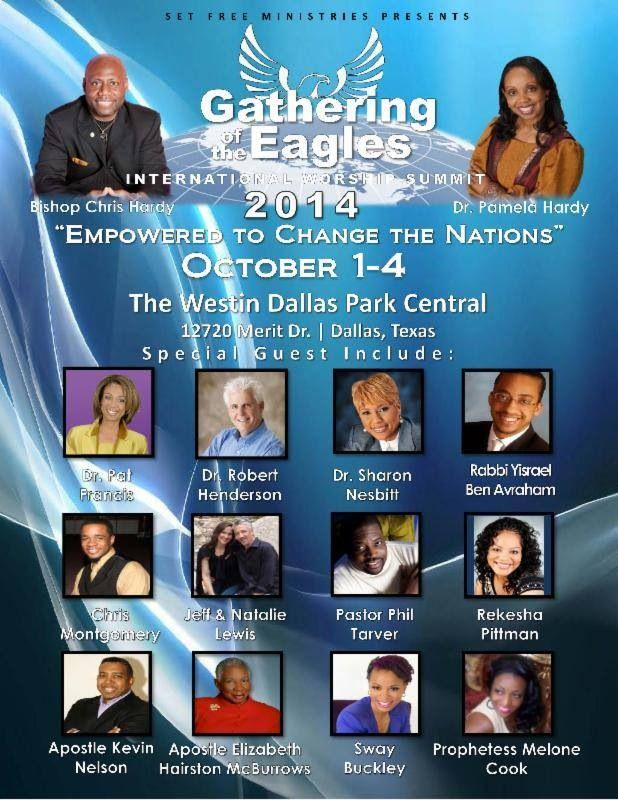 The Gathering of the Eagles Worship Summit!