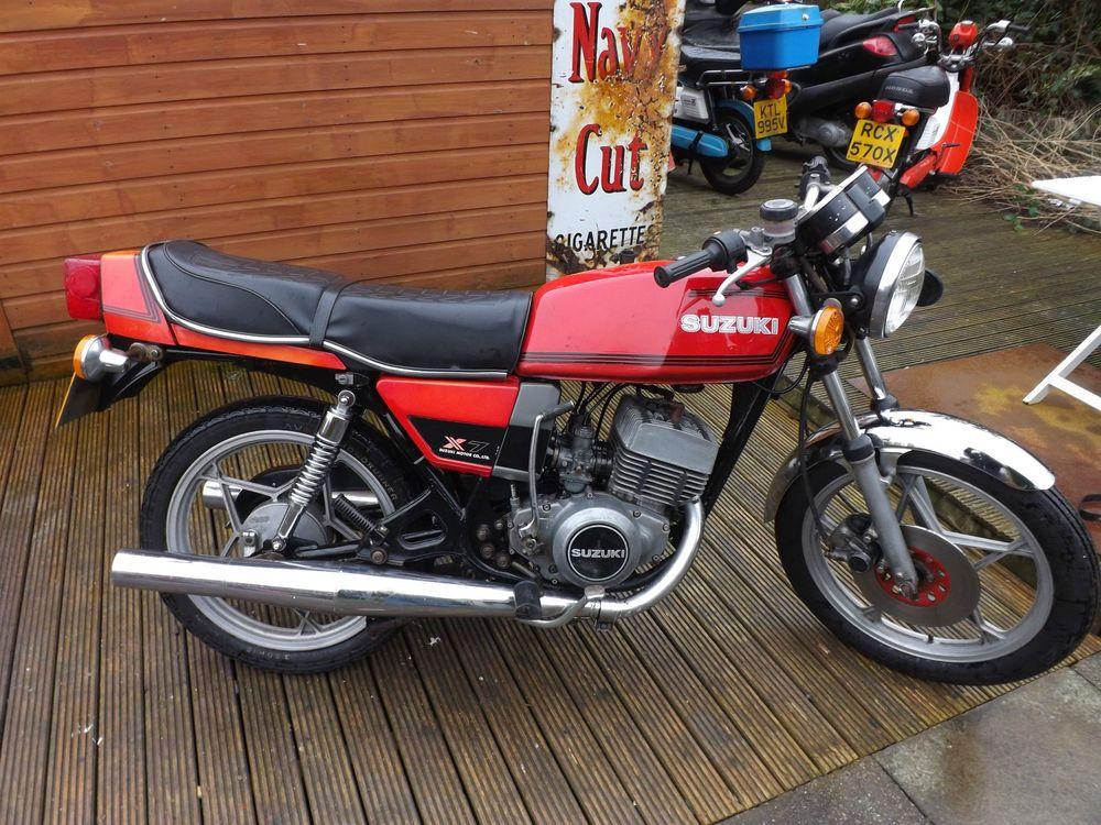 1979 Suzuki X7 250 250cc 2 Stoke Twin 5 Previous Owners 23000 Miles Uk Bikw V5 Suzuki Suzuki Motorcycle 250cc