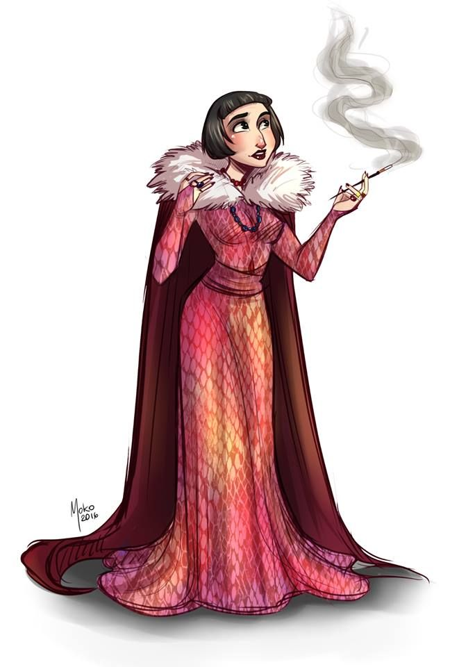 Marta Murach Character Design Challenge Say Hello To A Bit Younger Version Of Madame Olympe Maxime D You Can Follow Me Here Https Www Instagram Com Mar